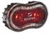 SIGMA SPORT Stereo USB LED-Rückleuchte schwarz/rot